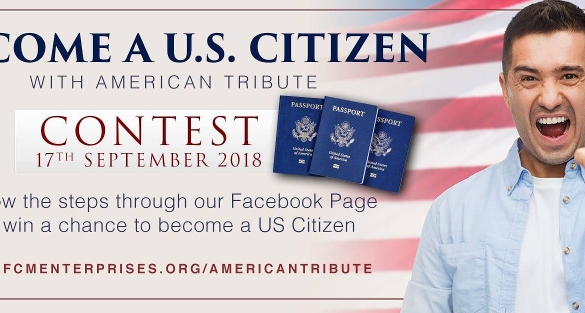 "American Tribute​ is sponsoring a ""Constitution Day"" contest"