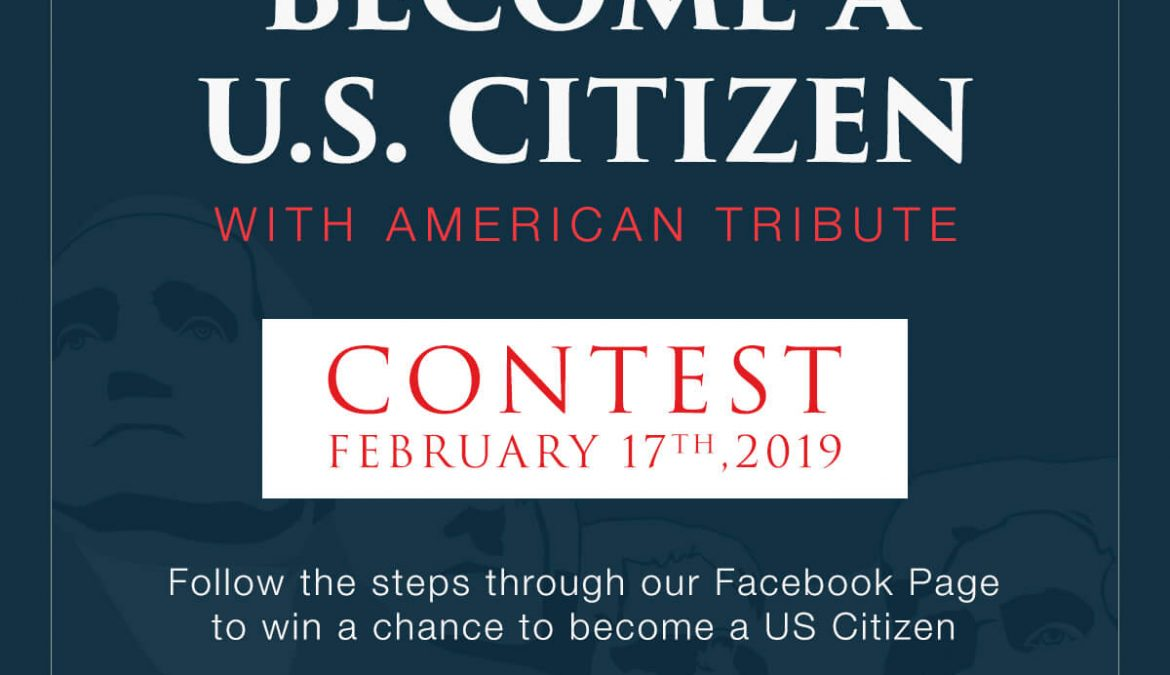 Be part of our Presidents' Day Contest!